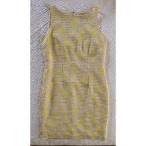 Petite Sun Dot Sheath Dress